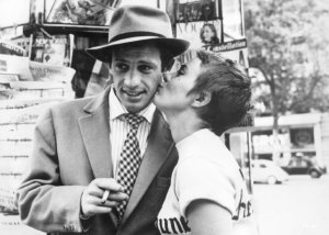 Michel and Patricia in BREATHLESS