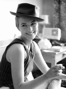 The lovely Jean Seberg in BREATHLESS